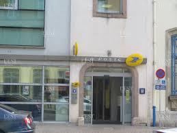 bureau de poste bichat edition de lunéville fermeture du bureau de poste