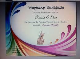 divine digitz some classic nail art designs u0026 certificate example