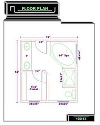 Master Bath Floor Plans Shower Tub Plumbing Fixtures And Toilet - Master bathroom design plans