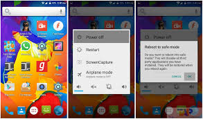 android safe mode how to turn safe mode or turn on safe mode on android