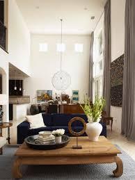 modern handleless kitchens kitchen kitchendining double storey void high ceiling white