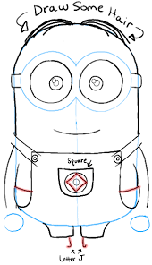 draw minions despicable draw dat