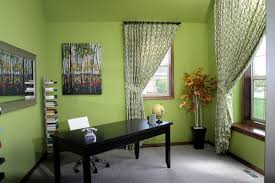 good color for home office walls create a cheerful atmosphere