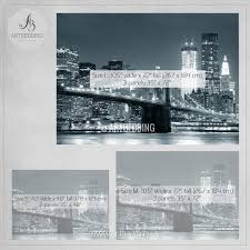 wall murals peel and stick self adhesive vinyl hd print artbedding new york cityscape wall mural brooklyn bridge photo sticker new york downtown skyline wall