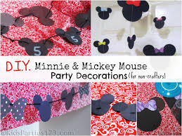 minnie mouse party supplies diy party decorations mickey minnie mouse party ideas