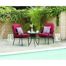 Bistro Patio Table Essential Garden 3 Bistro Patio Set