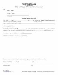 Rent Increase Letter Ma lease increase notice city espora co