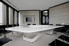 Modern Office Table Designs With Glass Fantastic Combination Of Conference Table Design With Wooden Glass