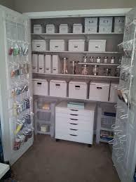 Shallow Closet Organizer - best 25 craft room closet ideas on pinterest craft organization