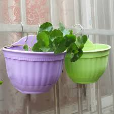 compare prices on plastic hanging flower pots online shopping buy