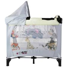 Mini Travel Crib by Bassinet With Double Canopy Bassinet Decoration