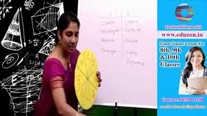 surface area and volume 8th class mathematics youtube