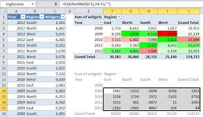 conditional formatting color scales based on other cells