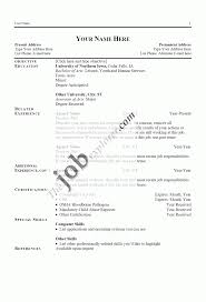 Computer Skills List Resume 100 Resume Template Job Actor 20 7 Acting How To Write Basic