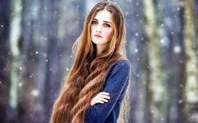 2015 long hair models fashion and women