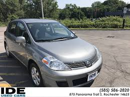 nissan versa windshield wipers pre owned 2008 nissan versa 1 8 sl 4dr car in rochester uh5864