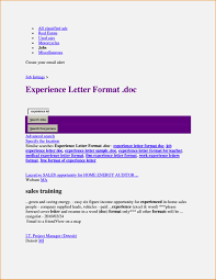 business certificate templates experience certificate it company
