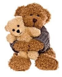 teddy bears pearls dog mangles teddy bears
