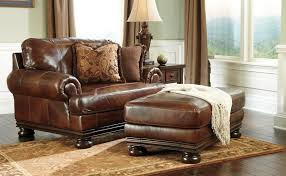 Overstuffed Leather Sofa Ottoman Splendid Chair Ottomans And Oversized Chairs With