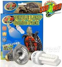 uvb light for turtles zoo med turtle l combo pack 50w repti tuff halogen reptisun 13w