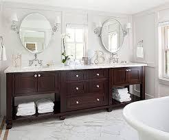 Wood Bathroom Vanity by Best 20 Bathroom Vanity Mirrors Ideas On Pinterest Double