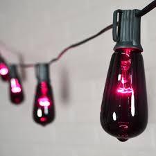 globe string lights 10 halloween edison bulbs outdoor 10 ft purple