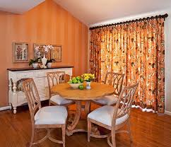burnt orange dining room burnt orange accent wall dining room
