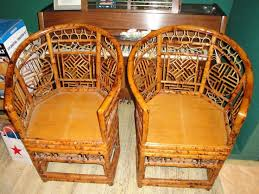Vintage Bamboo Chairs Chinoiserie Chairs Vintage Bamboo Rattan Brighton Pavilion Chinese