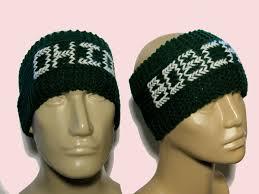 football headbands ohio bobcats ear warmers knit headbands unisex ear warmers knit