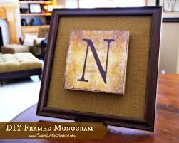 diy framed monogram 2 jpg