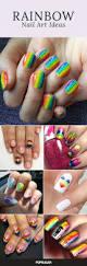 best 25 rainbow nail art ideas on pinterest rainbow nail art