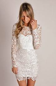 white lace dresses to wear this summer 2018 fashiongum