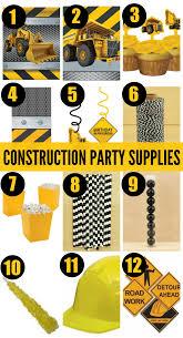 construction birthday party invitation templates ideas