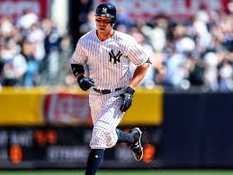 Aaron Judge Made His Mlb Debut In Center Field - aaron judge is the yankees powerful young rookie si com