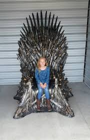 psbattle with life size game of thrones chair photoshopbattles