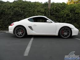 cayman porsche 2006 2006 cayman s upgraded with 19 inch hre p40 wheels sharkwerks