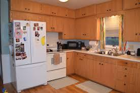 kitchen with honey oak cabinets restain honey oak cabinets rixen it up