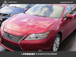 lexus sedan used 2014 used lexus es 300h 4dr sedan hybrid at capitol honda serving