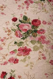 quilt throw shabby chic chinese rose cotton beautiful bedding