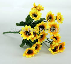 silk sunflowers cheap bouquet sunflowers find bouquet sunflowers deals on line at