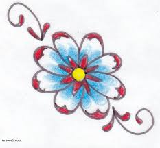 daisy tattoos and designs page 92