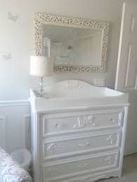 White Changing Tables For Nursery The Repurposed Dresser With The Changing Pad And The