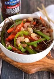 cold sesame ginger soba noodle salad recipe litehouse