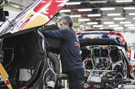 peugeot dakar team peugeot total u2013 last fine tunning before rally dakar 2015