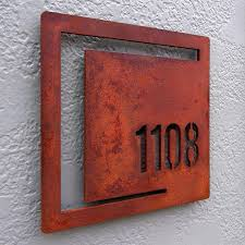 Lighted House Number Sign Front Door Number Plaques Lighted House Number Plaque Front Door