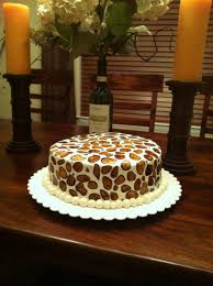hummingbird in animal print cakecentral com