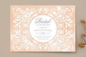 bridal luncheon invitation flourishing blooms bridal luncheon bridal shower invitations by