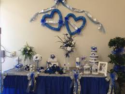 blue and silver wedding royal blue and silver wedding decorations royal blue