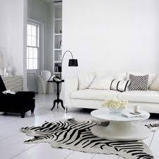 Zebra Floor L Zebra Print Cowhide Rug White L Imports Regarding Inspirations