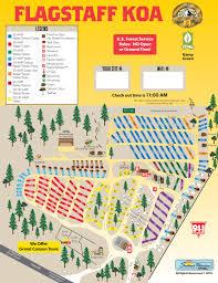 Mesa Az Zip Code Map by Flagstaff Arizona Campground Flagstaff Koa